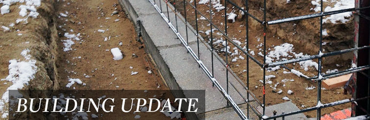Building Update — March 21, 2014