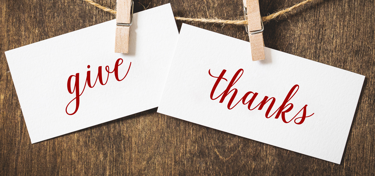 Give Thanks, A Word by Pastor Steele Croswhite from The Rock Church in Utah.