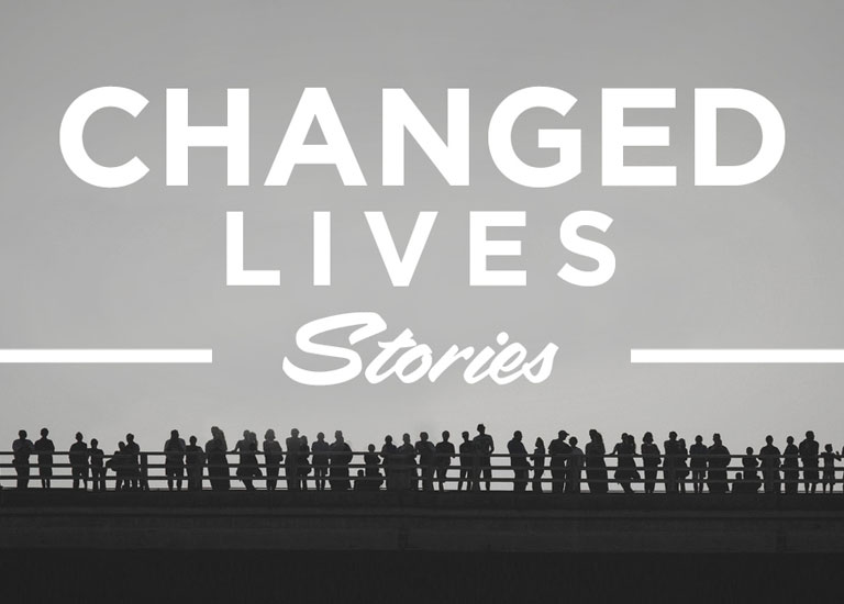 Jesus Changes Lives