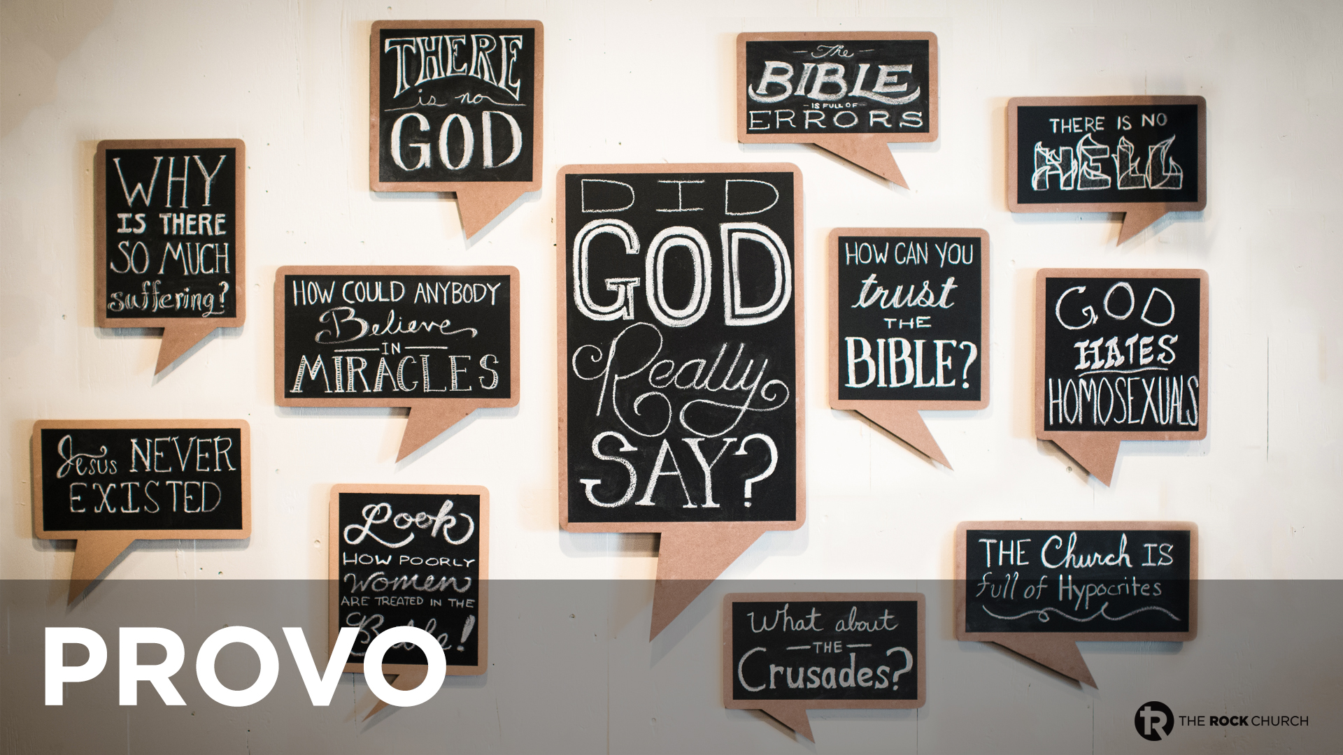 Did God Really Say?: Provo